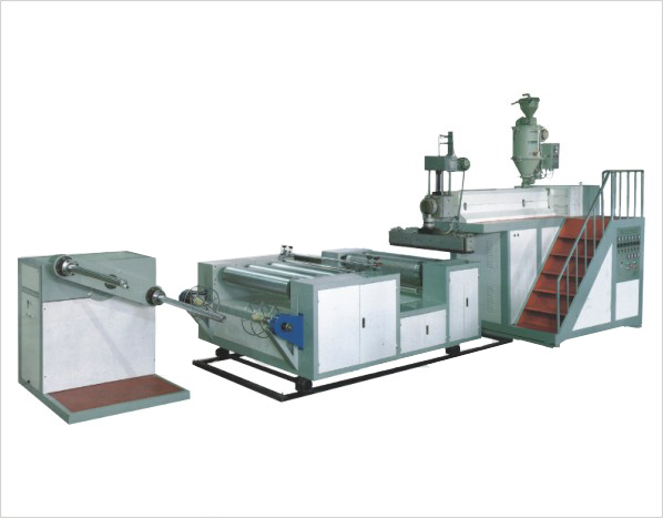 2 Couches Extrusion Machine Fabrication Film Bulle Plastique