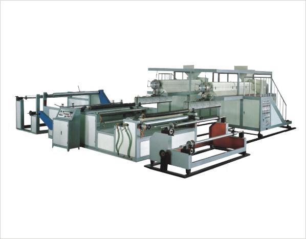 3 Couches Extrusion Machine Fabrication Film Bulle Plastique