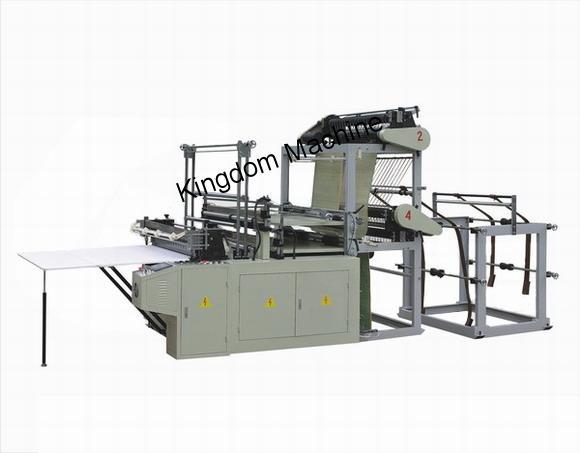 Machine Fabrication de Sachet à soudure de fond Plastique Polyéthylène