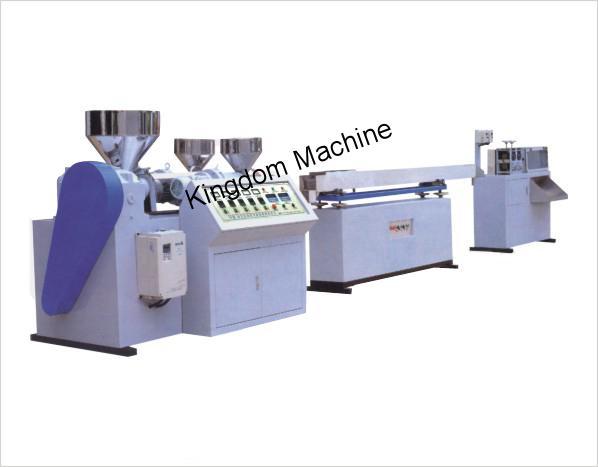 Machine de Fabrication de Paille Plastique Polypropylène PP