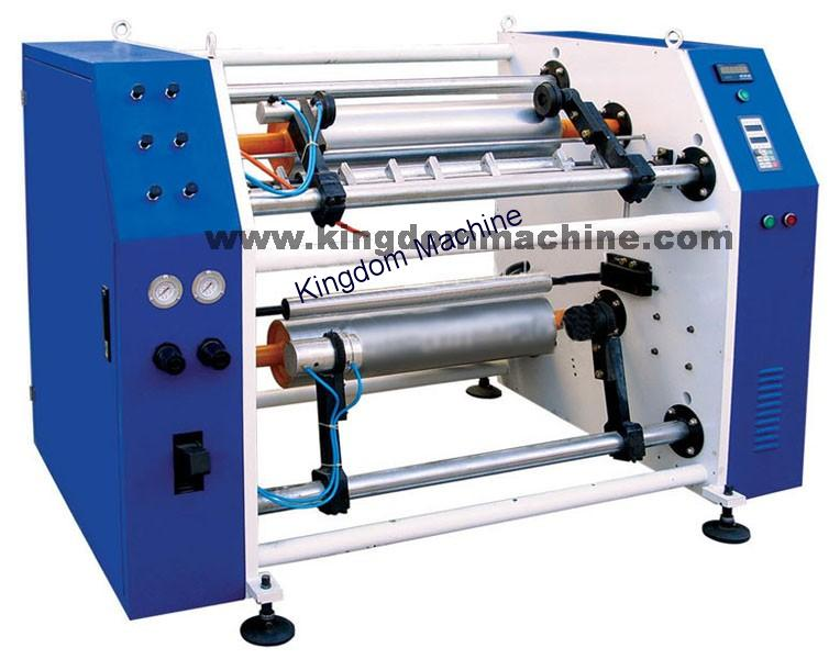 Stretch Film Rewinder and Slitting Machine