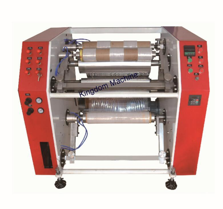 Stretch Film Rewinder Slitting Machine